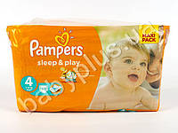 """Подгузники Pampers """"Sleep&Play Maxi"""" (7-14 кг) 50шт"""