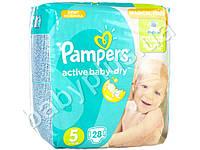 "Подгузники Pampers ""Active Baby-Dry Junior"" (11-18 кг) 28шт"