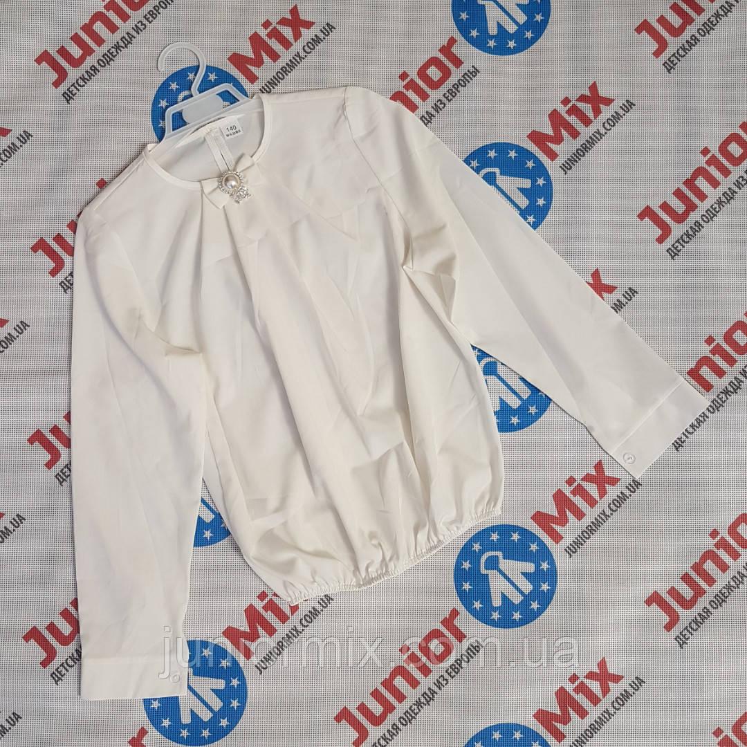 Детская школьная блузка для девочек оптом AGATKA