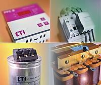 Компоненты систем компенсации реактивной мощности CP ETI