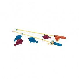 Игровой набор - МАГНИТНАЯ РЫБАЛКА (2 удочки, 4 рыбки) от Battat Lite -
