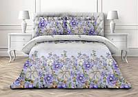 Сантарелла, постельное белье из поплина с цветами (100% хлопок)
