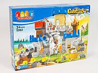 Конструктор, замок, рыцари, лошадь, оружие, 115 деталей, в коробке