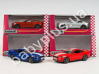 Hoku Машинка метал KINSMART инер-я, 1:38 2015 FORD MUSTANG GT, 4 цвета, откр.двери, в кор-ке