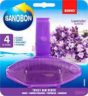 Туалетный блок Sano Лаванда 55 г