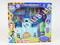 Замок Frozen, принцессы, мебель, фигурка, в кор-ке