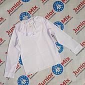 Нарядная школьная детская блузка для девочек оптом AGATKA. ПОЛЬША
