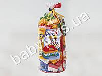 Конструктор детский НИК №4 (179 деталей) в паяном пакете