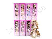 Кукла 30см, фарфоровая, на подставке, 8 видов, в коробке