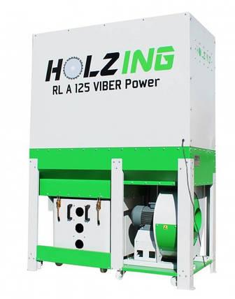 Аспірація RLA 125 VIBER Power 4500 м3/год Holzing, фото 2