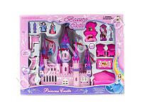 Замок принцессы, 32см, мебель, фигурки, в кор-ке