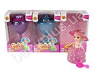 Кукла CCS, 15см, капкейк, аром, склад.в кубок, свук, муз, 3 вида, на бат, в кор-ке
