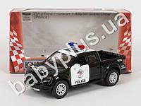 Hoku Машинка метал KINSMART инер-я, внедорож, полиция, 1:46 FORD F-150 SVT RAPTOR SUPER CREW POLICE0, откр.двери, резиновые коле