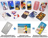 Печать на чехле для HTC One Max (Cиликон/TPU)