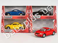 Hoku Машинка метал KINSMART инер-я, 1:32 AUDI TT COUPE, 4 цвета, откр.двери, в кор-ке