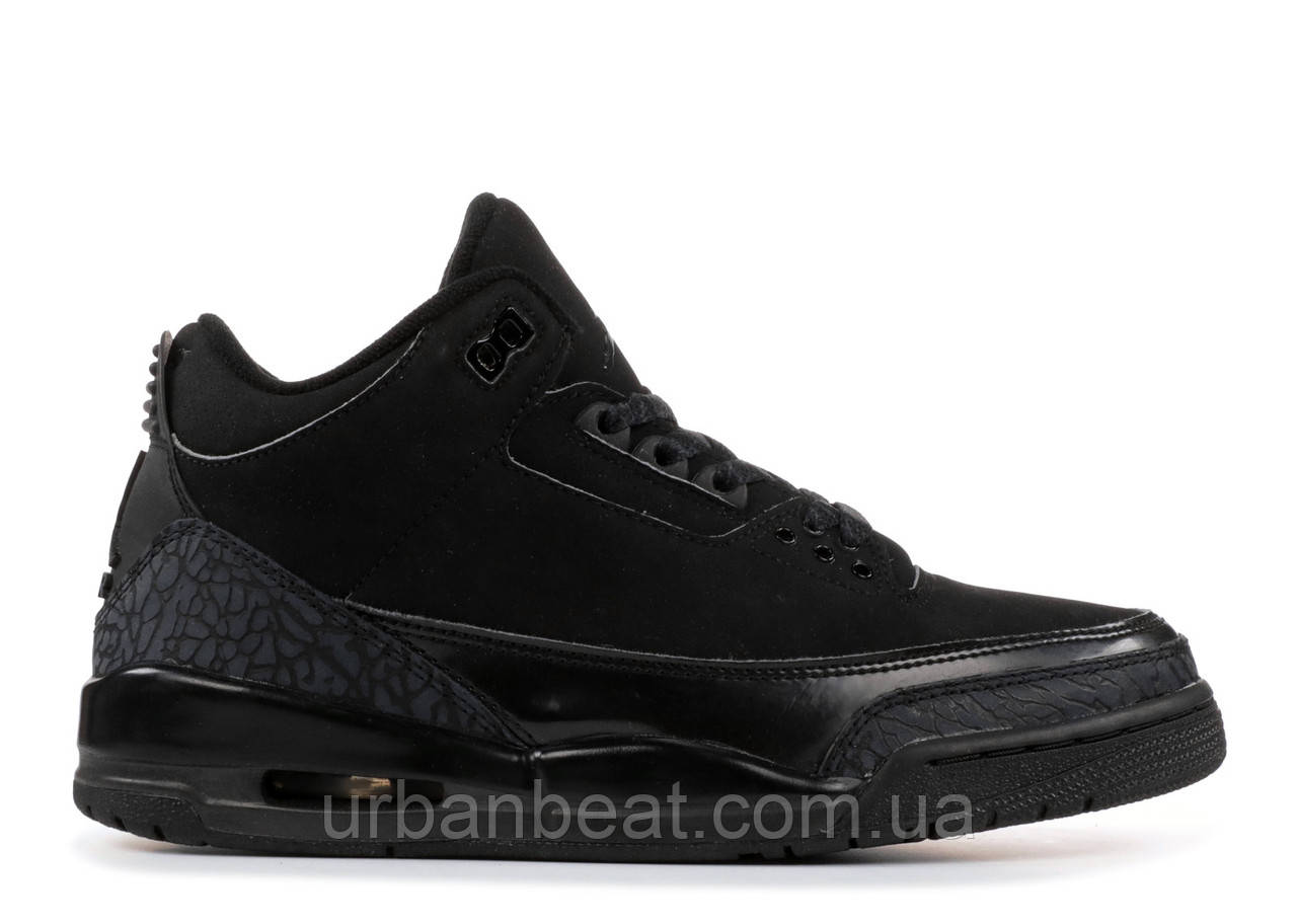 6b254efe4e10 Баскетбольные Кроссовки Air Jordan 3 Retro Black Cat РЕПЛИКА — в Категории
