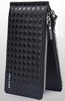 Женский кошелек PULABO Fashion кожаный клатч на молнии Черный (SUN0581), фото 1