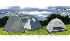 Палатка туристическая четырёхместная Green Camp, фото 2