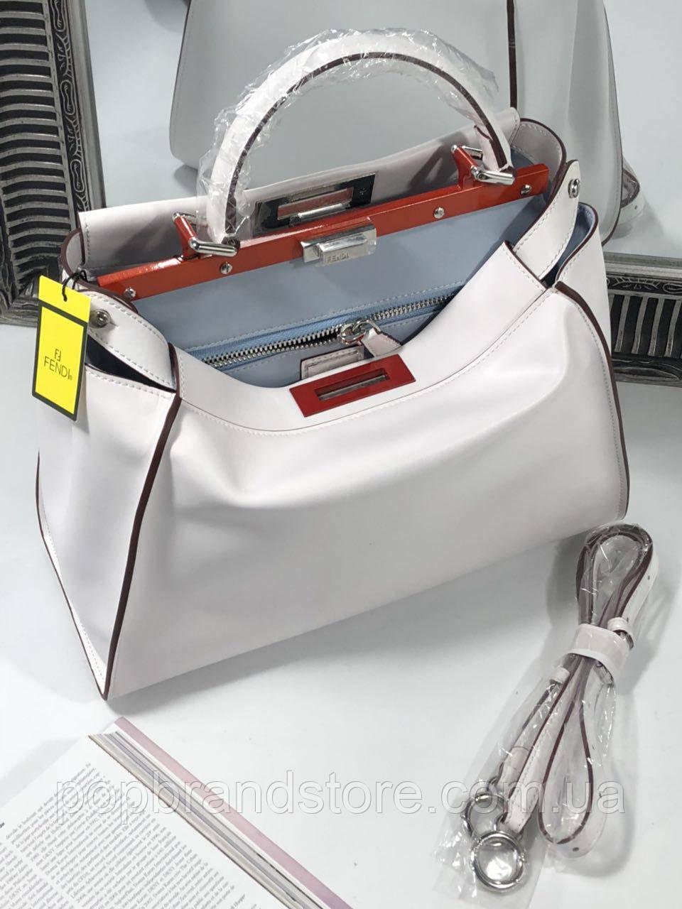 5b5ec93fdfa3 Стильная женская сумка FENDI PEEKABOO 33 см (реплика): продажа, цена ...