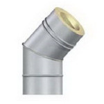 Отвод 90/45 гр. ф100/180 мм