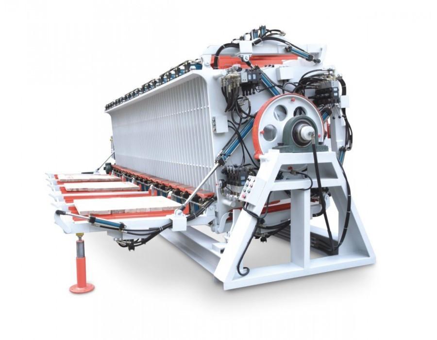 Четырехсторонний прес для бруса Typ MH 1362D DOWN FOLD WINTER