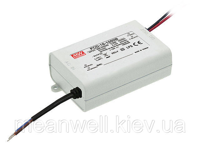PLD-16-1400B Блок питания Mean Well 16.8 вт, 8-12 в, 1400мА