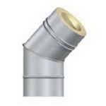 Отвод утепленный 90/45 гр. ф140/220 мм