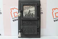 """Дверцы печные со стеклом """"MORIS"""" 310х520. Дверцы для кухни, барбекю, фото 2"""