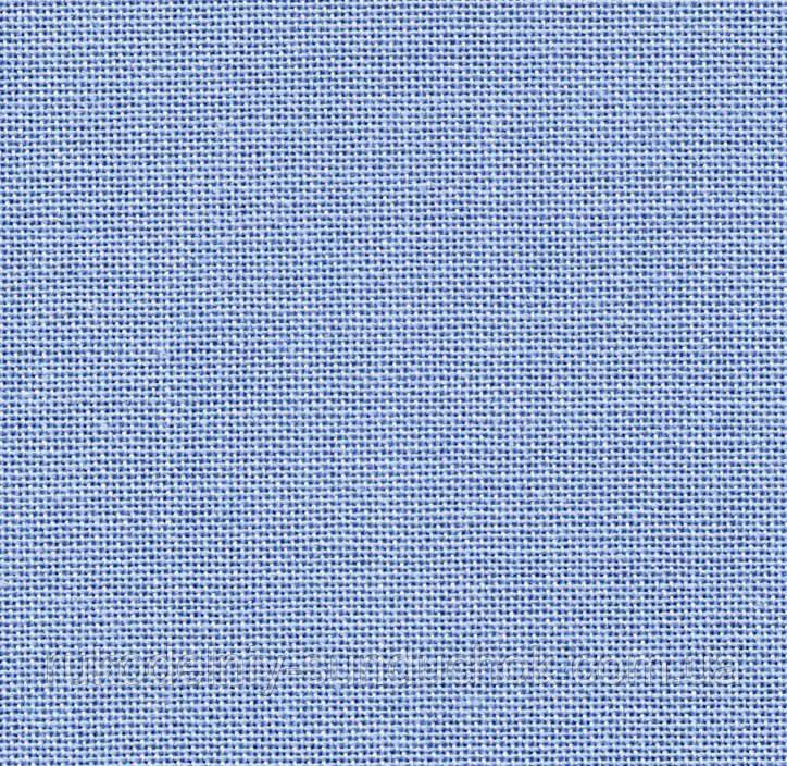 Равномерная ткань - насыщенная голубая (Украина)