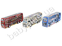 Автобус инер-й, двухэтажный, 3 вида(CA,TF,СП), в кульке