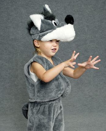 """Детский карнавальный костюм """"Волк"""", фото 2"""