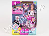 Кукла DEFA беременная, с одеждой, 2 ребенка, аксессуары, в кор-ке