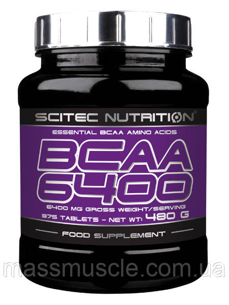 Аминокислота Scitec Nutrition BCAA 6400 375 tabs