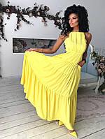 Длинное нарядное платье / софт / Украина