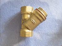 Фильтр грубой очистки 3/4 латунный