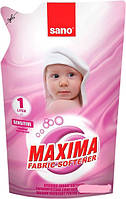 Ополаскиватель для белья Sano Maxima Sensitive 1 л сменная упаковка