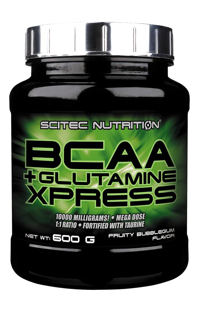 Аминокислота Scitec Nutrition BCAA + Glutamine Xpress 600 g