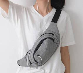 Удобная и практичная поясная сумка на пояс унисекс 4 цвета