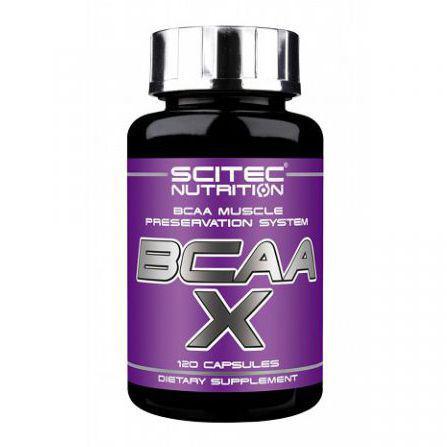 Аминокислота Scitec Nutrition BCAA-X 120 caps