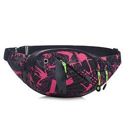 Удобная и практичная поясная сумка на пояс унисекс
