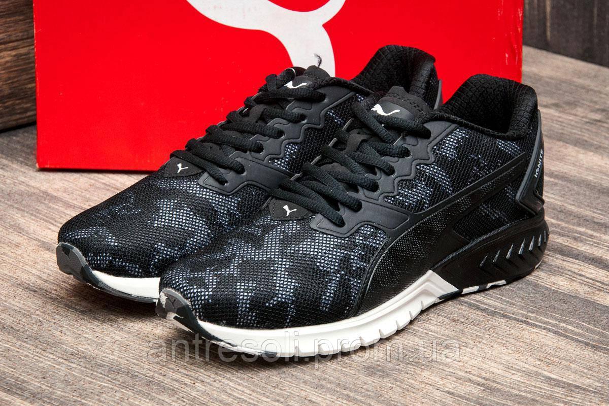 Кроссовки мужские Puma Ignite Dual, черные (2605-6),  [   42 44  ]