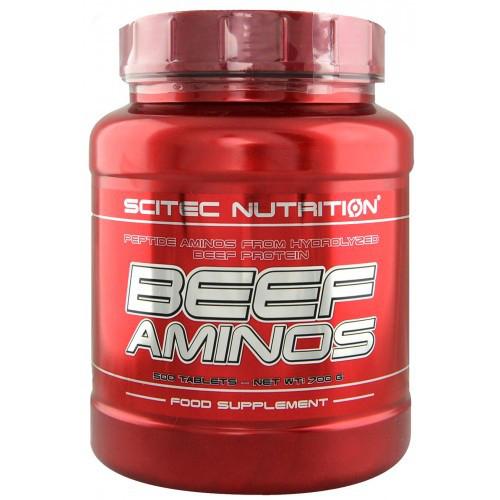Аминокислота Scitec Nutrition Beef Aminos 500 tabs