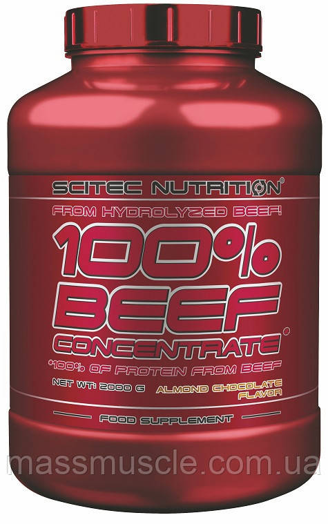 Протеин Scitec Nutrition 100% Beef Concentrate 1000 g