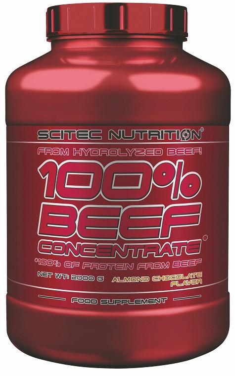 Протеїн Scitec Nutrition 100% Beef Concentrate 2000 g