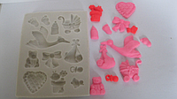 Как пользоваться силиконовыми молдами для мастики