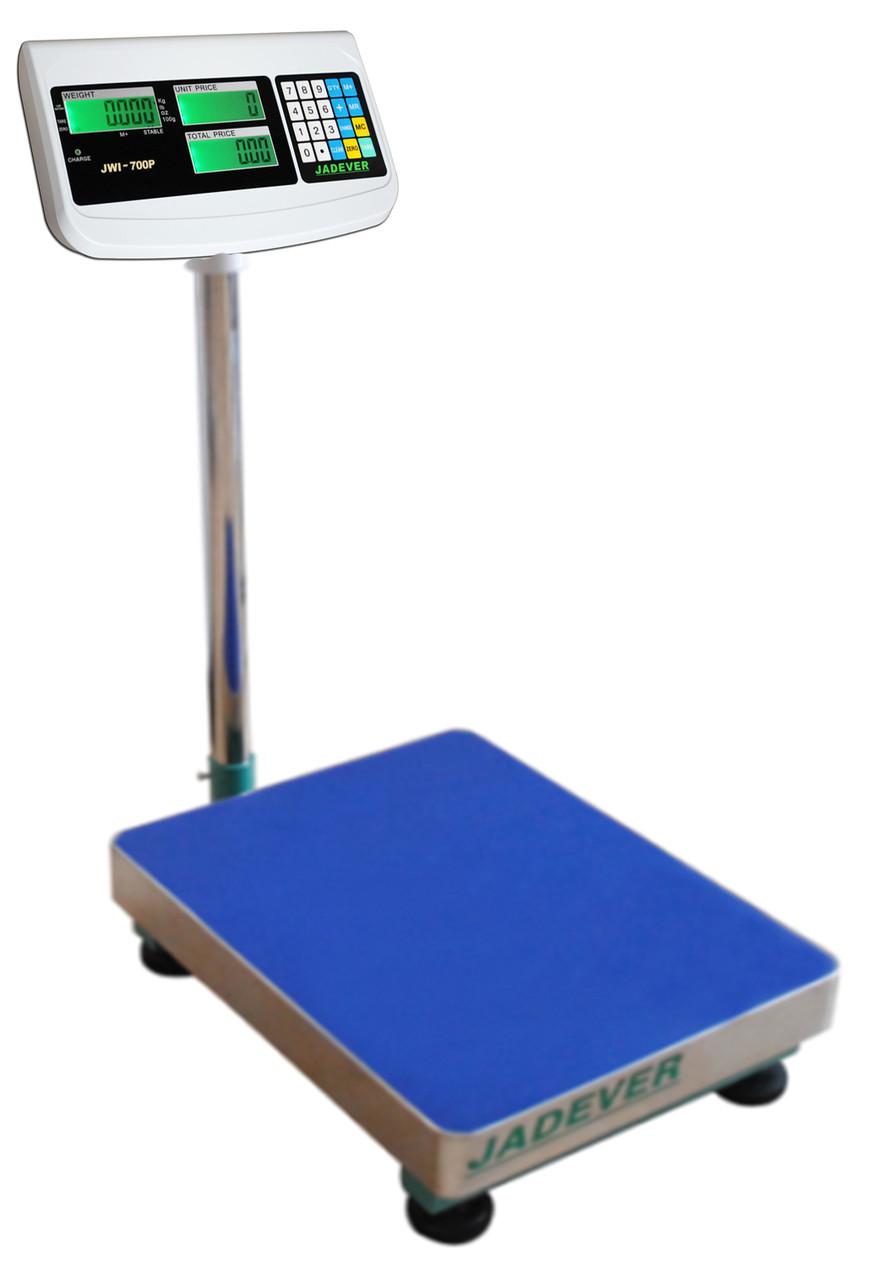 Весы товарные Jadever JBS-700P 60 кг