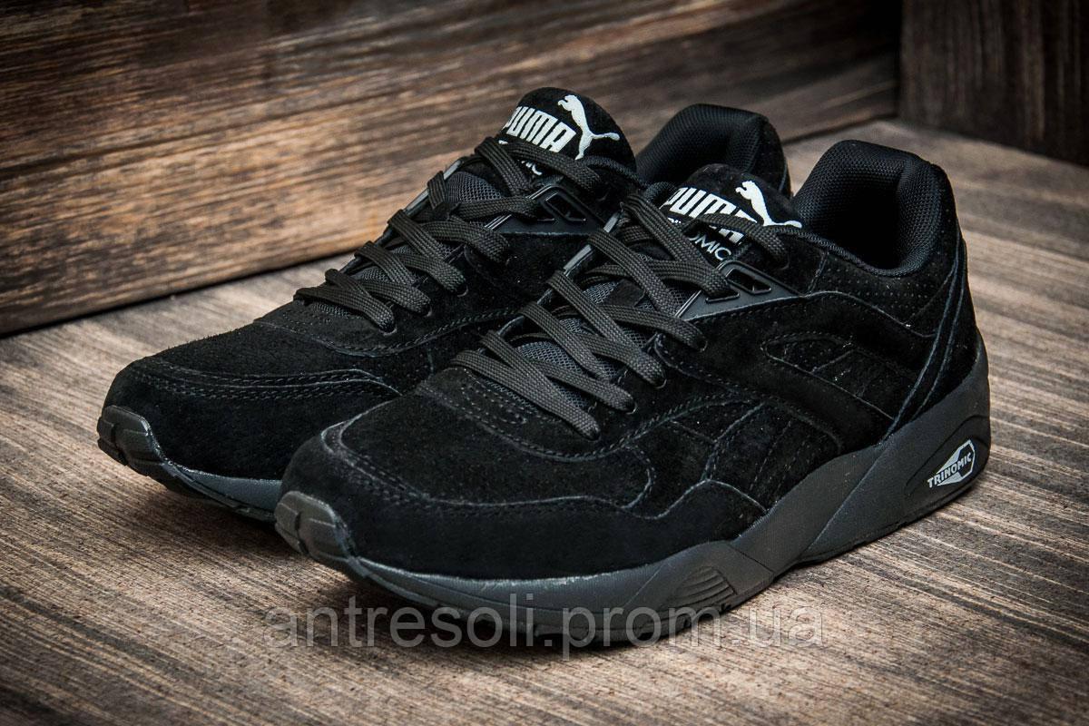 Кроссовки мужские Puma TRINOMIC, черные (2493-1),  [   46  ]