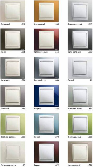 Рамки Schneider unica plus (цветная серия)