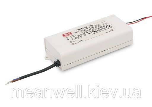 PLD-60-700B Блок питания Mean Well 60.2 вт, 50-86 в, 700мА