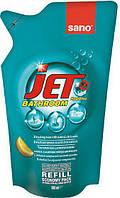 Средство для мытья акриловых ванн Sano Jet Bathroom сменная упаковка 500 мл